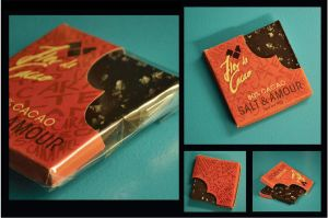 Flor de Cacao packaging by Pandasquid