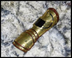 Modular Steampunk Gauntlet by SteamViking