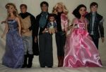 Once upon a Time Fan Dolls by KoolKatKaitlynAATC