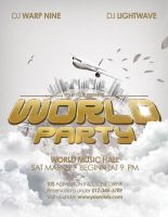 World Party - Flyer Template by isoarts2
