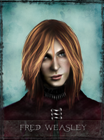 Fred Weasley - Tarot Series by Patilda