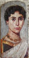 Fayum mummy portrait 6 by Lijah