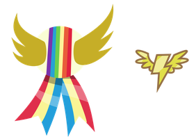 Rainbow Falls Badges by masemj