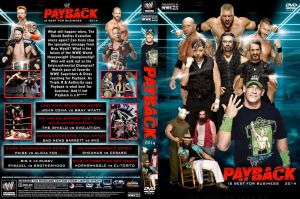 WWE Payback 2014 DVD Cover V2 by Chirantha
