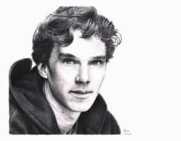 Benedict Cumberbatch by Atarial