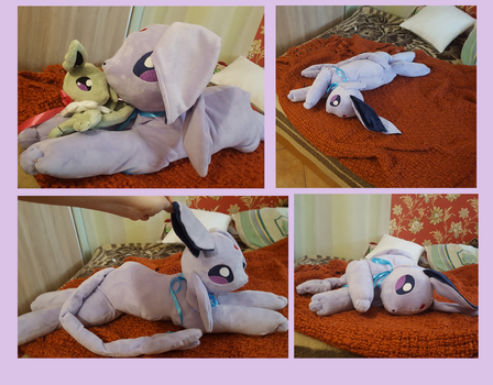 Espeon plush by zukori