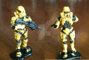 RVB Heroclix Custom: Grif by ComicMaster1