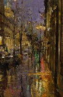 Evening Rain in Paris by OlegTrofimoff