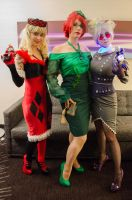 Full shot of Gotham Gals by SickStarr