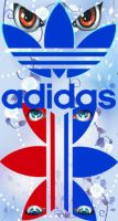 Adidas eyes by hedgiee