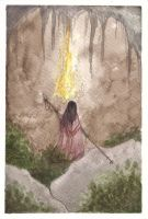 His flame burns bright by Woodsie-One