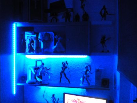 My Room and my Collection! Old pics! 3 by MrJamesBlack001
