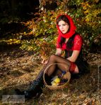 not-so-little red riding hood by sentimentalcannibal