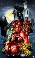 HELL-GIRL by Rantz by Voodoodwarf