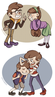 Pines Children by GarrulousGibberish