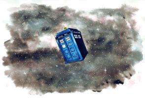 TARDIS by thegreatperhapss