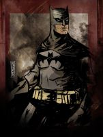 Batman by CartoonCaveman