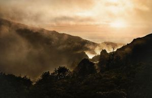 Misty Rise by mark-flammable