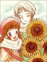 APH: His little sunshine by chevalier16