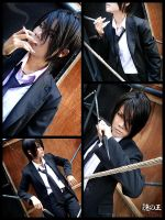 Cosplay: Tobari -Nabari no Ou- by Zeasonal
