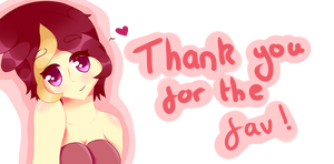 Thank you for the Fav by Sharpnessarrow
