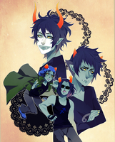 Homestuck: weird mash up by animegirl000