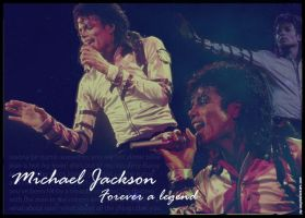 Michael Jackson - The Legend by jay-way