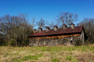 Old Barn by Oocatt