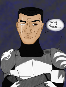 Commander Wolffe Request by AngelAxexinf