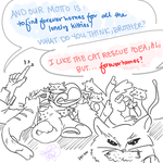 Alphonse's Cats by Equestrian-Equine