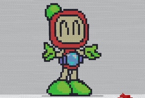 Minecraft - Red Bomberman by shadex00x