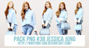 Pack PNG #38 Jessica Jung by NaKyung-san