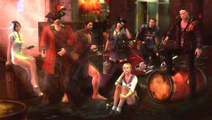 Resident evil 6 - Mercenaries by PhlegmaticPerson