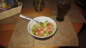 Tortellini with Edamame and Smoked Sausage by Emerada