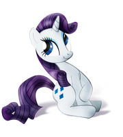 Rarity (Alpha Channel) by nicolaykoriagin