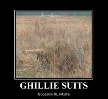 Ghillie-Suit demotivational by TIGHTMAN