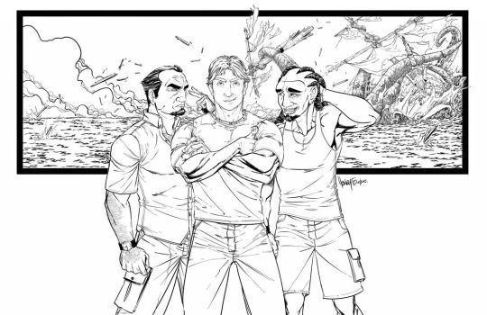 Ted, Craig and Tommy... by mastermerol