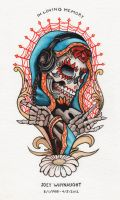 Tattoo in Watercolor by Groovygirlsuzy17