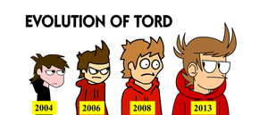 Evolution of Tord by SuperSmash3DS