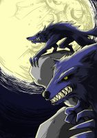 Werewolves Raid by frixinthepixel