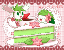 Shaymin's Afternoon Tea by CaninePrince