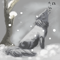Wolf Icon for kaylin540 by iamblossom