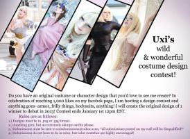 Costume Design Contest! by UxiCosplay