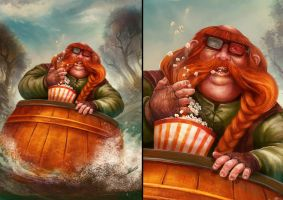 Fanart of Bombur - Hobbit by ARTdesk