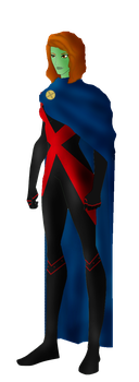 DC Comics Miss Martian (M'gann M'orzz/ Megan Mors) by FIREARROW1