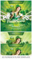 St Patricks Day Flyer Template by EAMejia