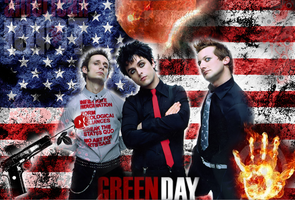 Green Day Wallpaper by pearlandfrog13