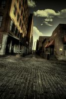Alley Toward Arch by blhayes87