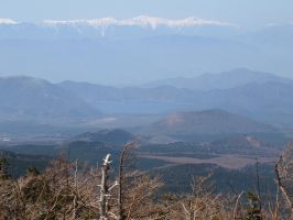 View from Mount Fuji by Elandhyr