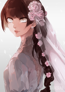 Bride by shihoran